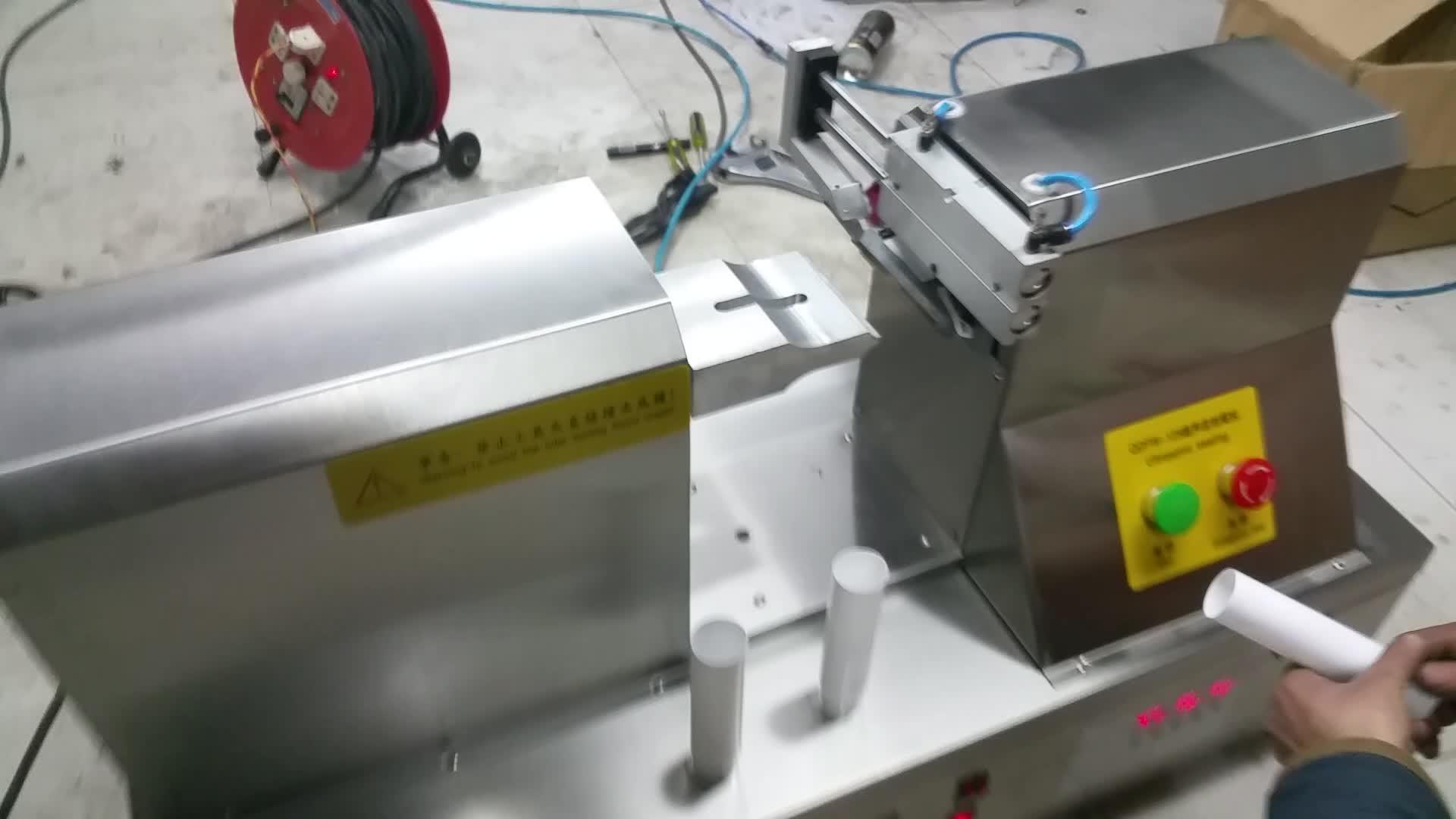 अल्ट्रासोनिक लहर सील हाथ क्रीम नरम ट्यूब मुहर मशीन के लिए उत्पादन कार्यशाला