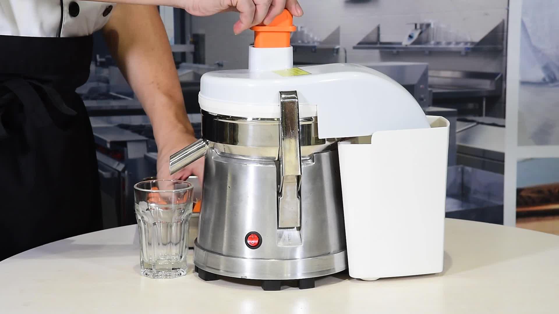 Groothandel Prijs Keuken Apparatuur Commerciële Langzaam Fruit Juicer Extractor