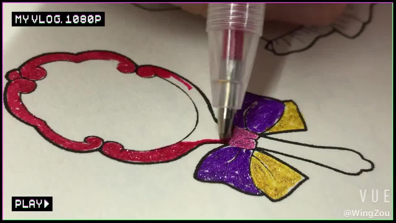 반짝이 (공부를) 젤 드로잉 펜 세트 독특한 색상 젤 펜 팩 성인 색칠하기 책 아트 마커