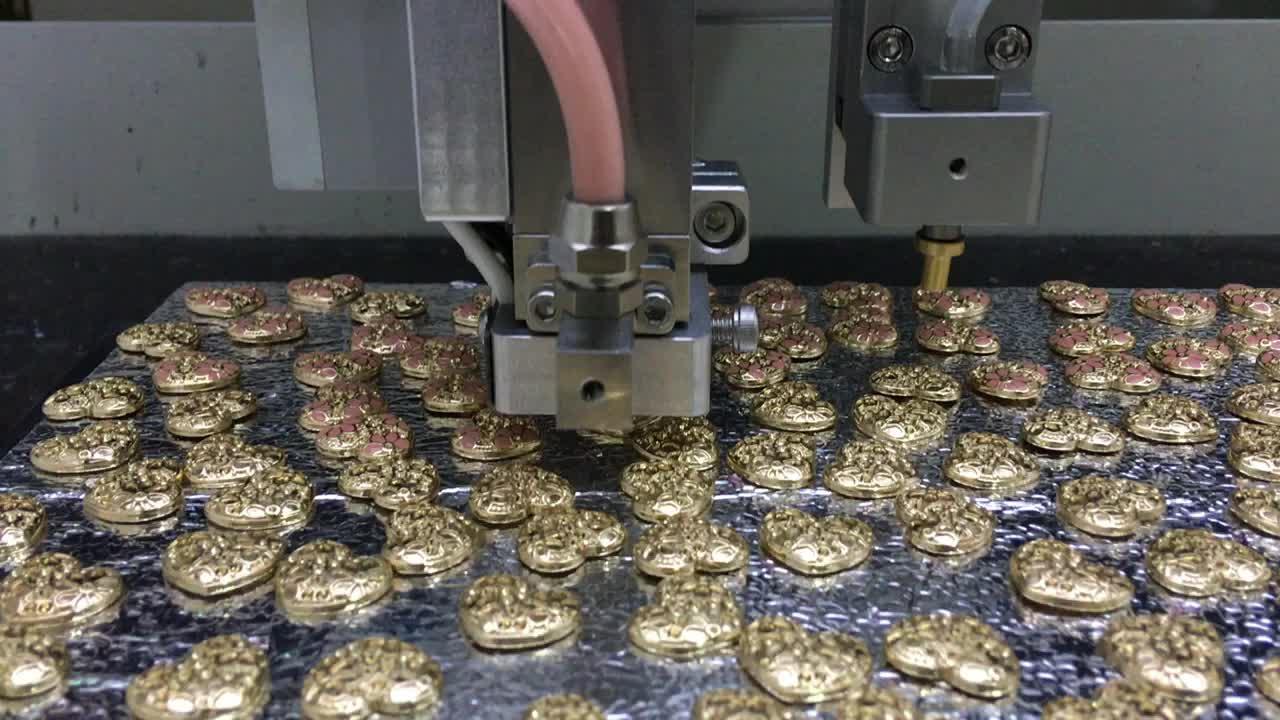 Jewelry factory full automatic smart machine pearl machine point drilling equipment custom