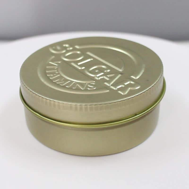 Kleine Mini Metalldose Fall Für Lippenstifte Verpackung