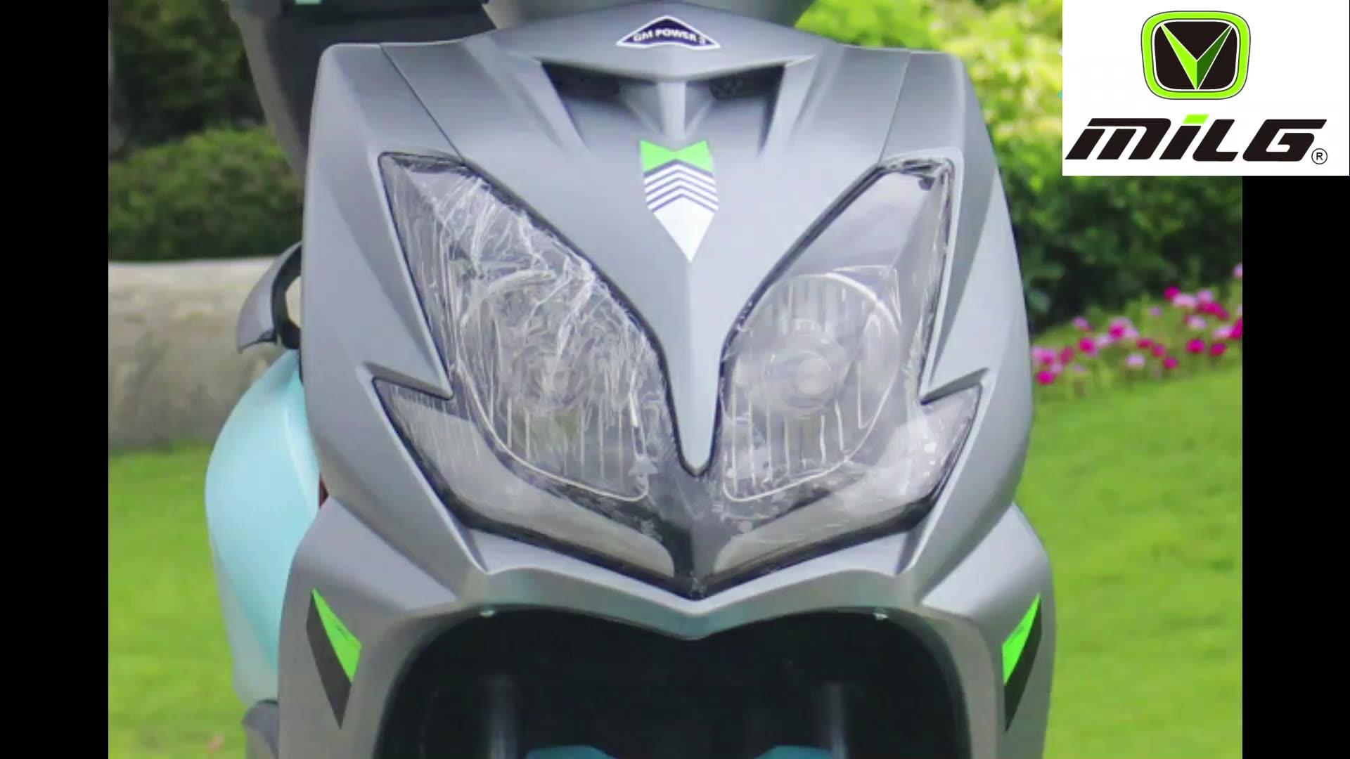 सस्ते उच्च शक्ति उच्च गति इलेक्ट्रिक स्कूटर 72V60V 20AH बिजली की मोटर साइकिल पैडल बिक्री के लिए डिस्क ब्रेक बिजली साइकिल सीकेडी