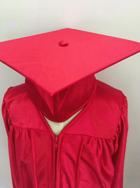 Classic Kindergarten Graduation Caps and Gowns