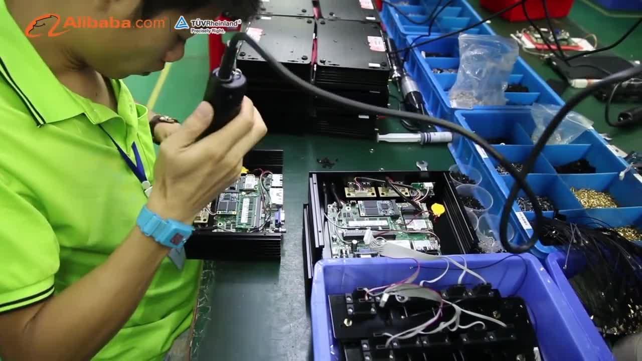 XCY firewall mini pc Core i3 4010U 5010U pfsense aes-ni 6 LAN servidor vpn X86 Router