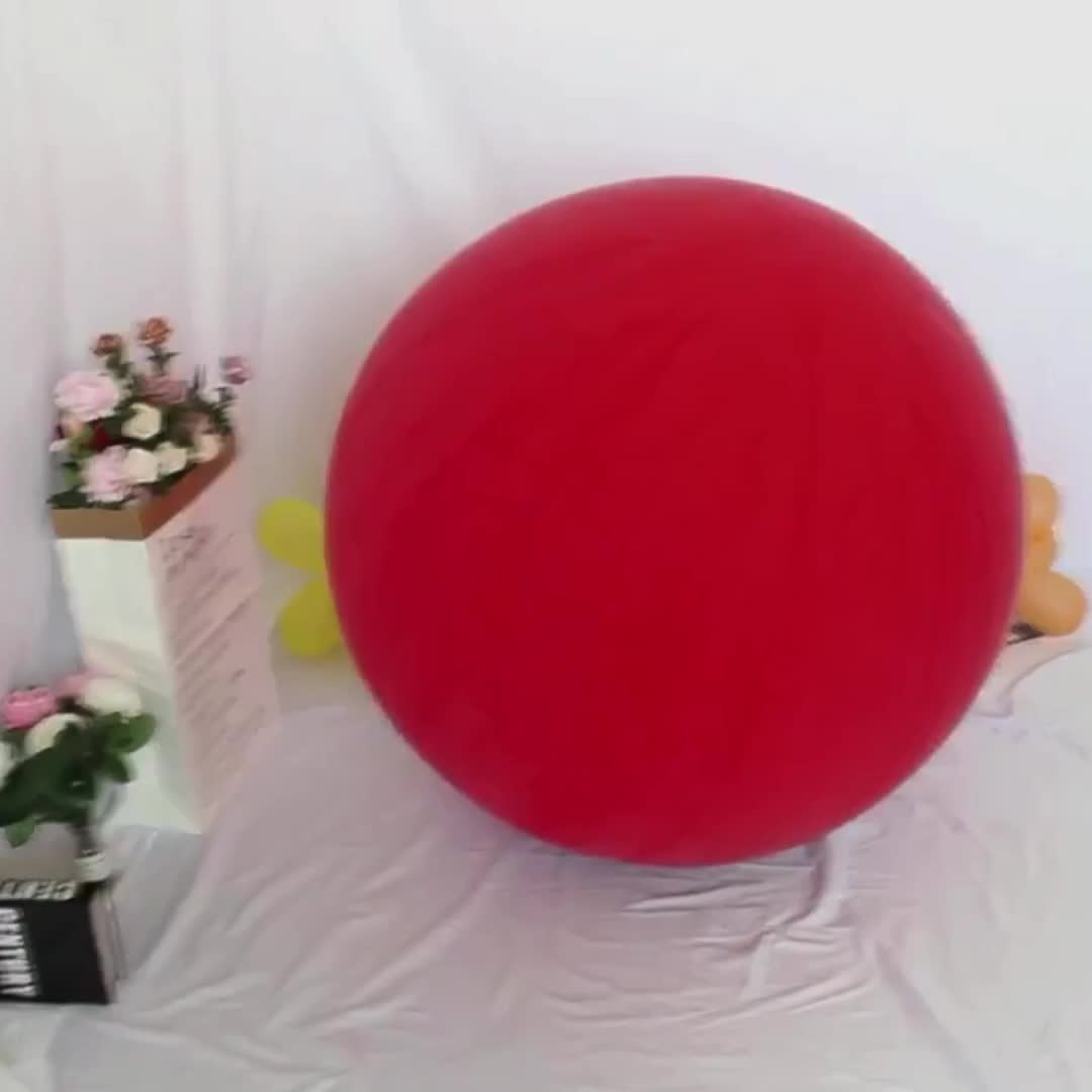 Wholesale 72inch Factory Direct Latex Big Climb in Meteorologic Red Weather Balloon