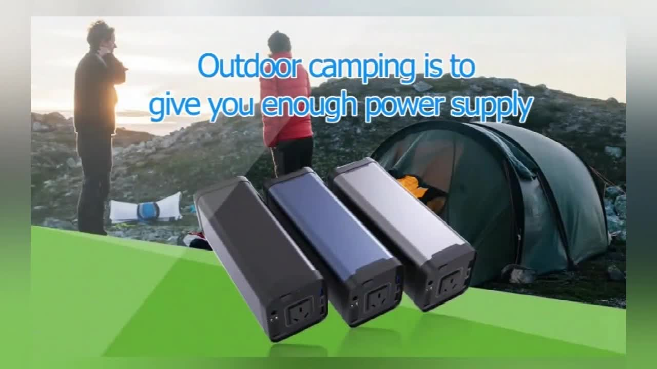 110V 50Hz PSE 40ah 200W Peak notebook PD ac power bank with multi-function and portable features