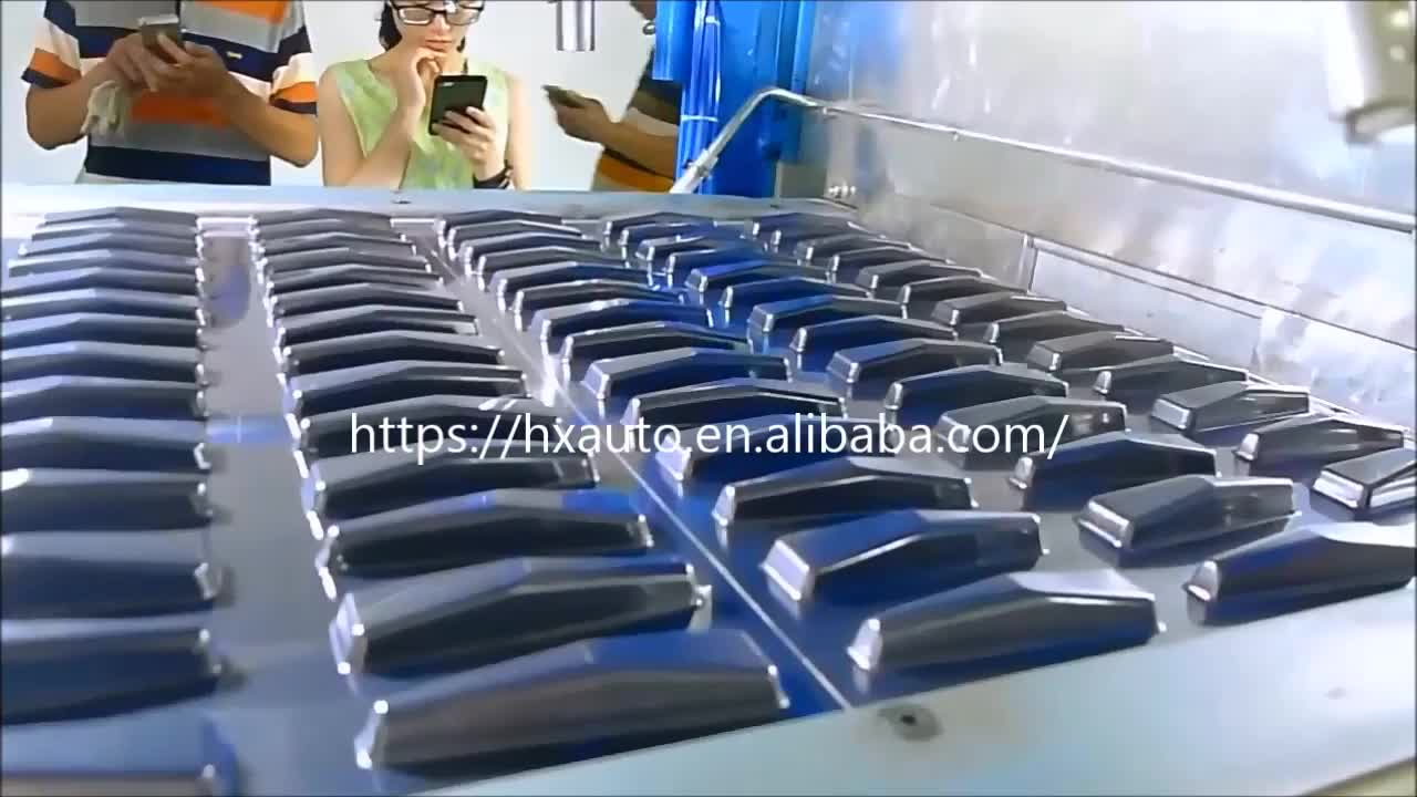 fully automatic plastic vacuum forming egg carton tray making machine