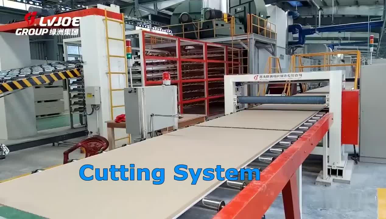 gypsum boatd machine/gypsum board making machines