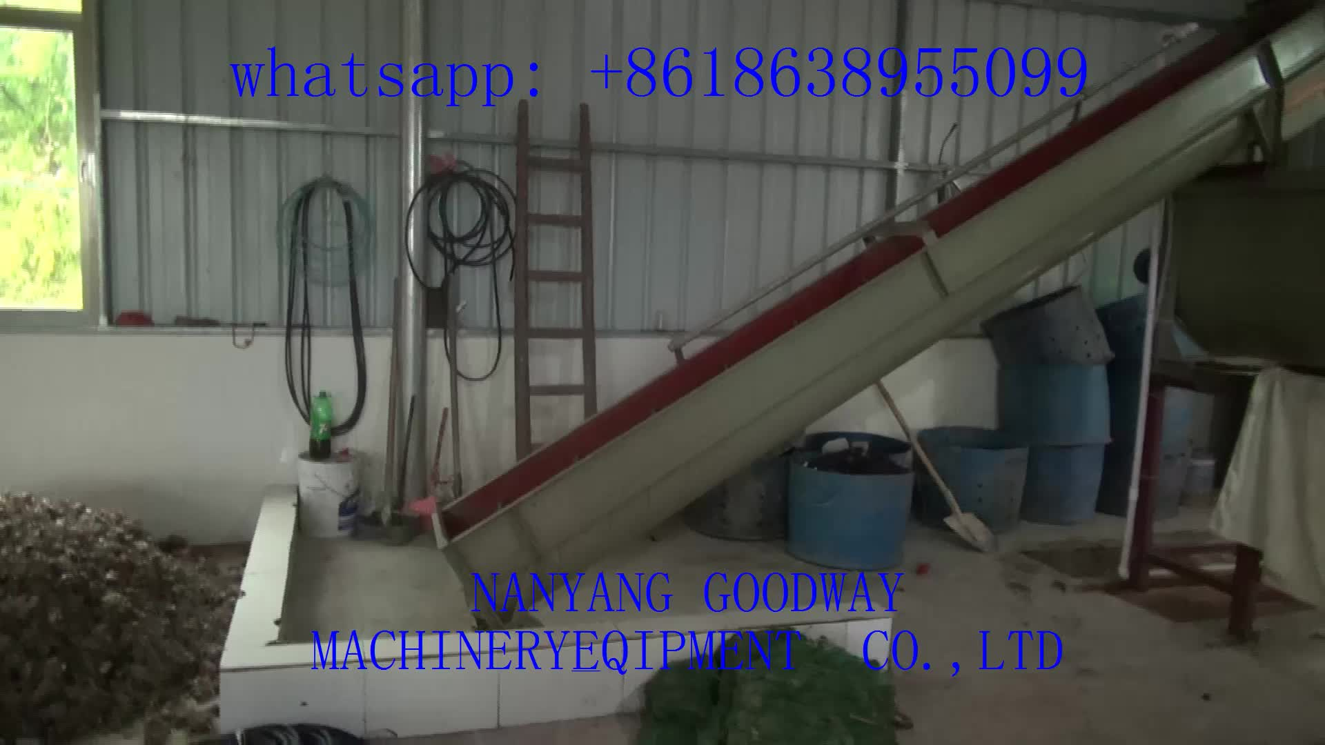 Complete cassava starch production line