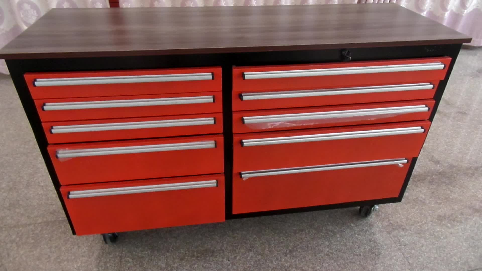 professional manufacturer customized tool cabinet trolley