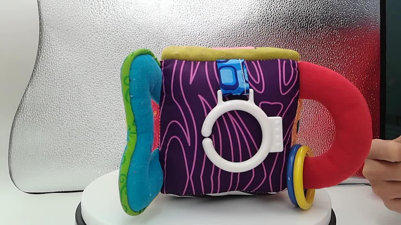Juguetes Bebe Smart Cube Plush Educational Block Toy for Kids