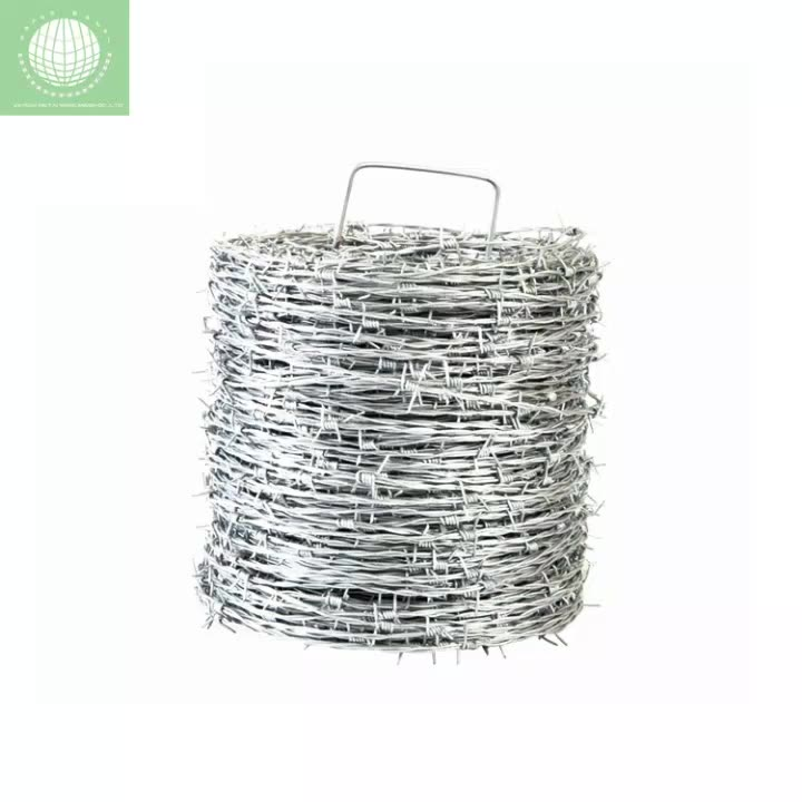 cheap barbed wire 500 meters per roll price barbed wire philippines