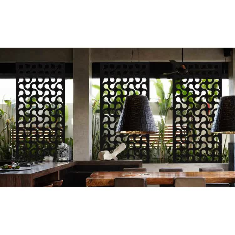 Laser Cut Garden Privacy  Decorative Outdoor Metal Panels