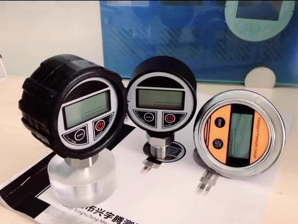 Excellent Quality Digital Differential Pressure Gauge Manometer Pressure Sensor with Dual LCD Display