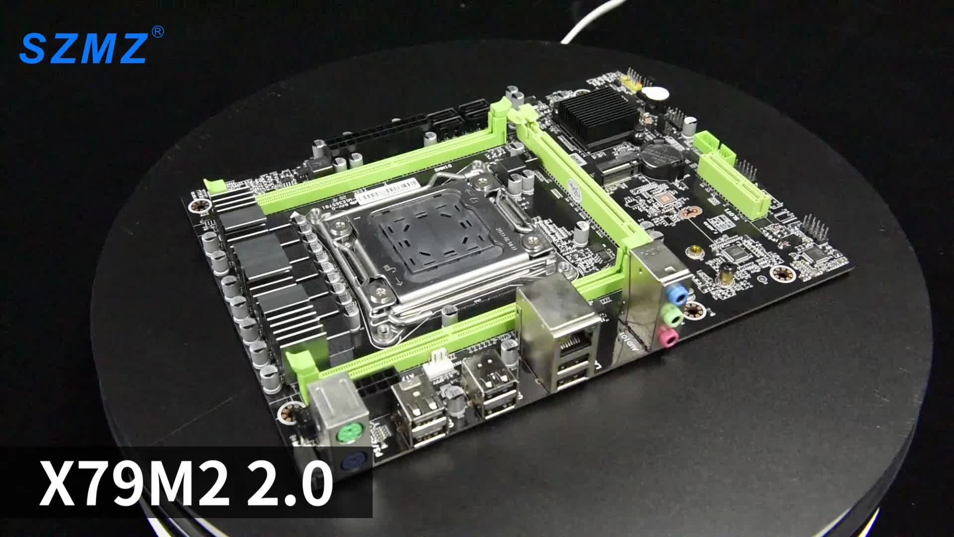 China fast delivery factory lga2011 x79 chipset ddr3 64GB gaming motherboards