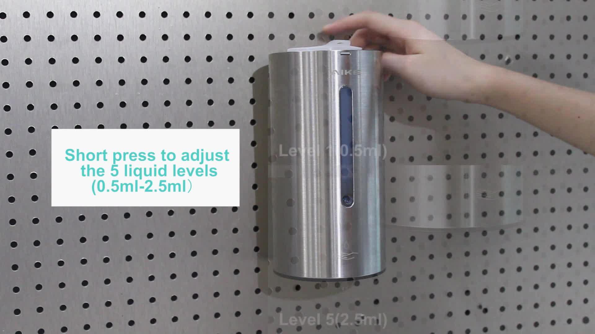 Dispensador automático de jabón dispensador de champú ducha dispensador de espuma