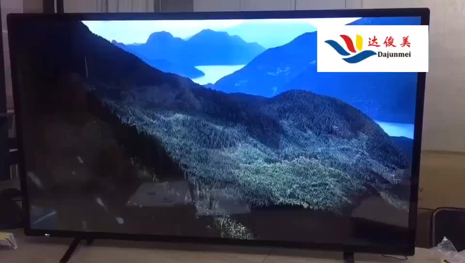 Cheap price 65 inch 4K UHD wide screen smart TV digital television