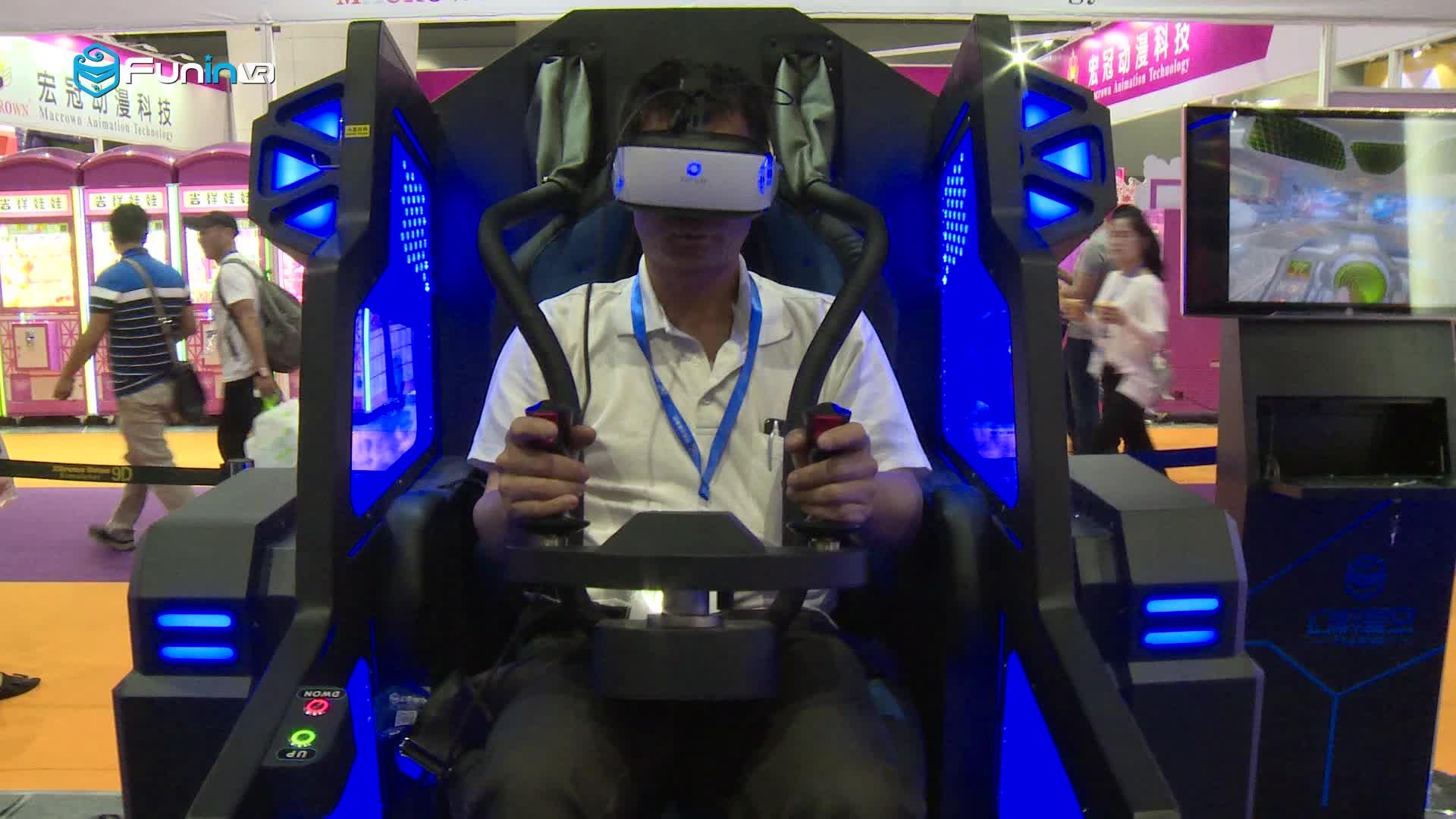 Factory price VR Mecha Simulator machine updated technology with interactive motion platform