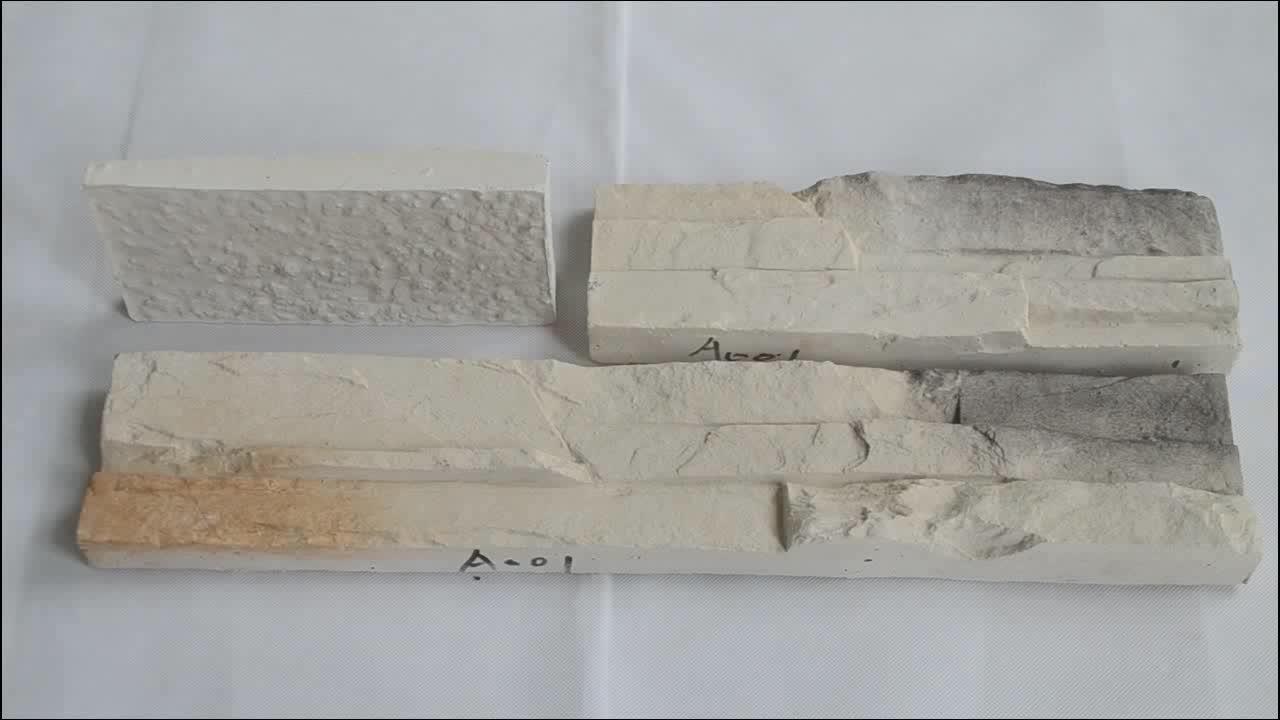 Materiales de construcción exterior flexible revestimiento de pared la cultura artificial cara de piedra de ladrillo
