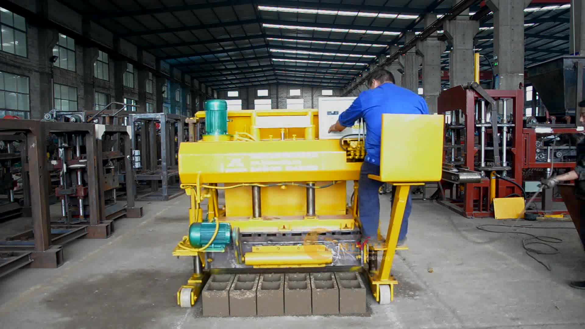 Qmy6 25 Mobile Block Moulding Machine Prices In Nigeria