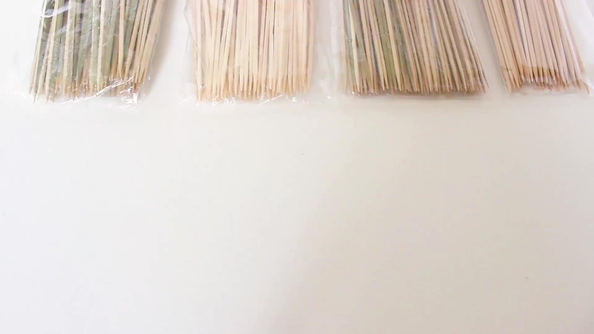 Partito Piatto di Bambù BBQ Stile Paddle Teppo Spiedo