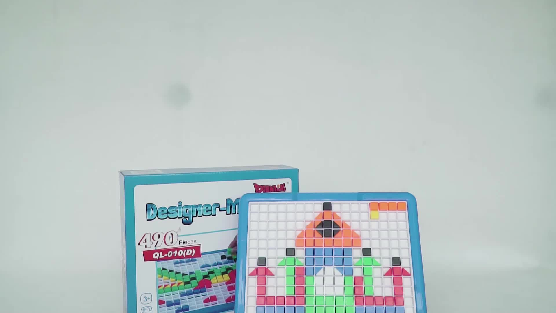 educational plastic brinquedo 3D Mosaic Puzzle QL-010(D)