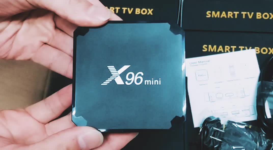 2018 100% Original X96 Mini 1GB 8GB 2GB 16GB S905W Android 7.1 TV Box
