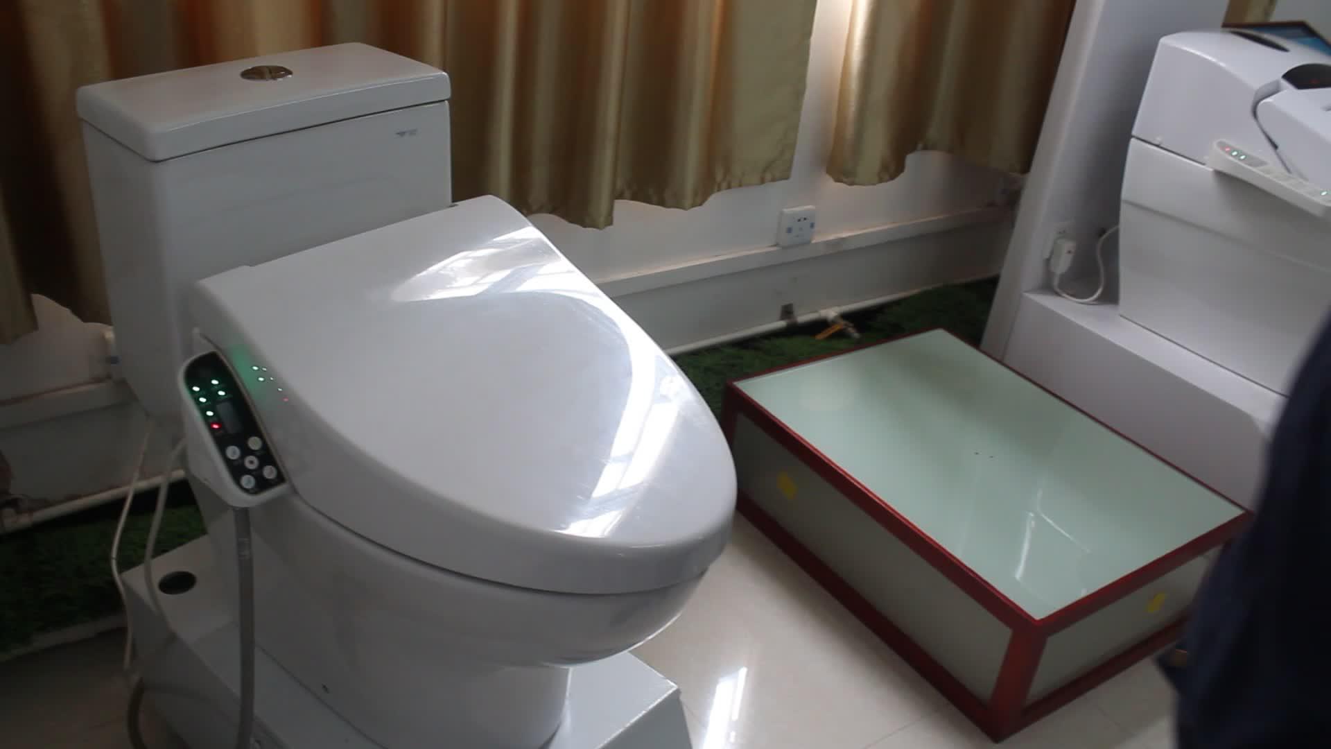 Banheiro Automático Abrir-fechar Elétrica Aquecida Assento Do Vaso Sanitário para Deficientes ZJF-03