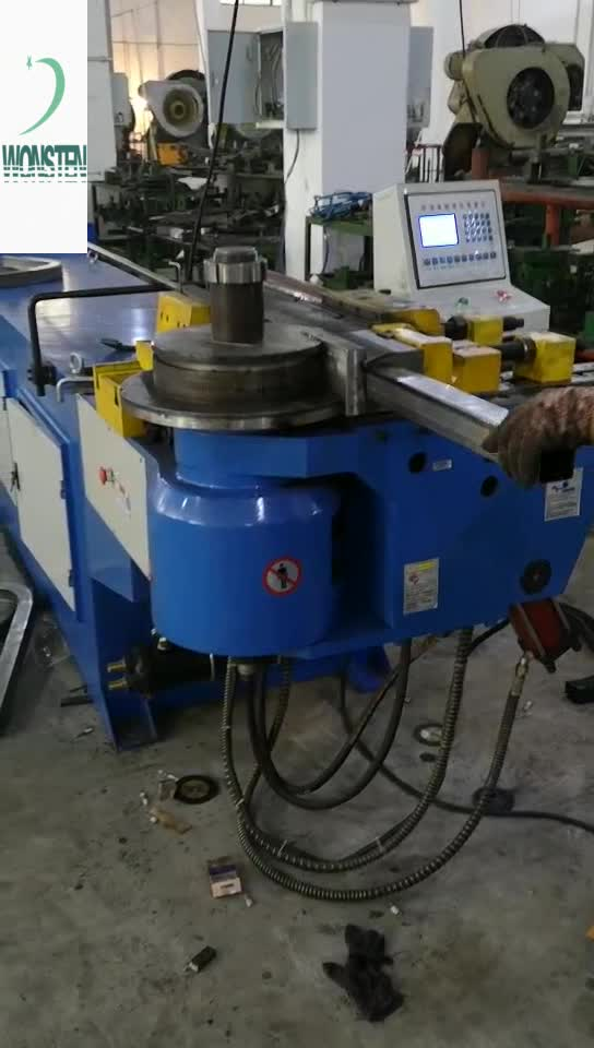 70mm Nc Semi Tube 180 Degree Bending Machine 100mm Diameter Steel Pipe Benders