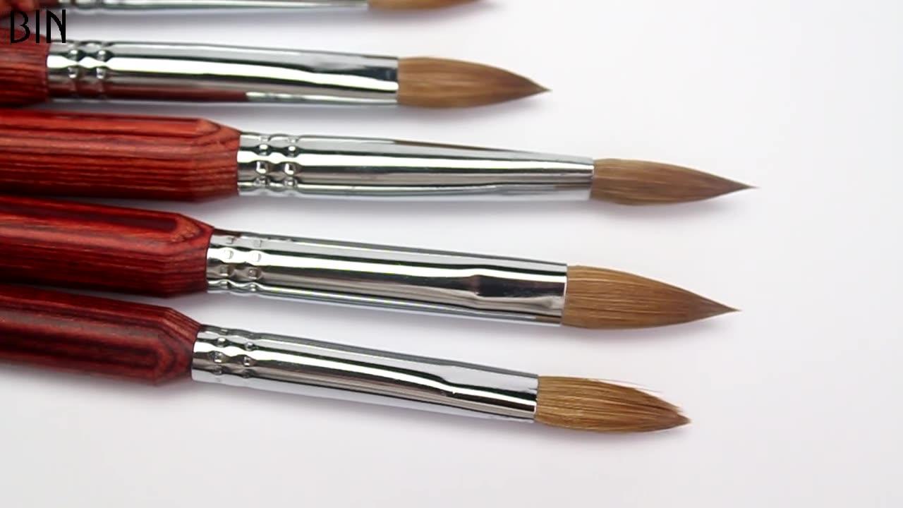 Sinovin — brosse à ongles manche en bois, en acrylique, haute qualité