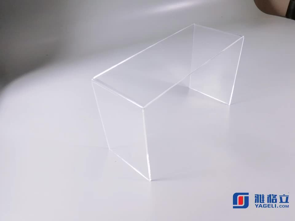 Custom Acrylic Laptop Display Holder Stand Plexiglass Bed Table