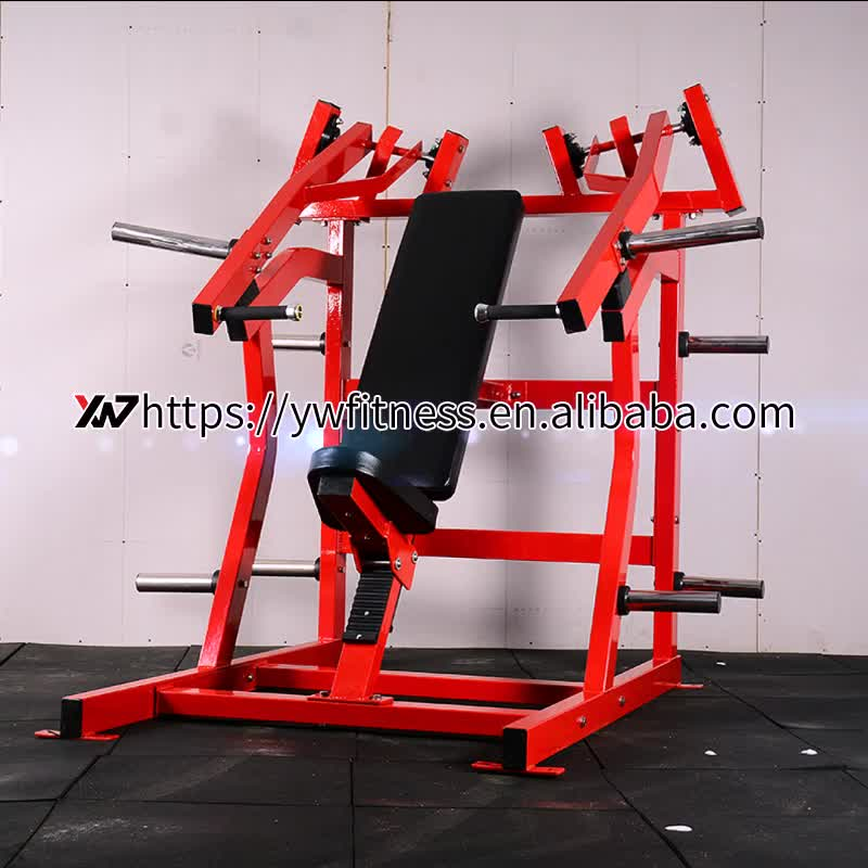 Iso-Lateral comercial Incline Chest Press machine para ginásio