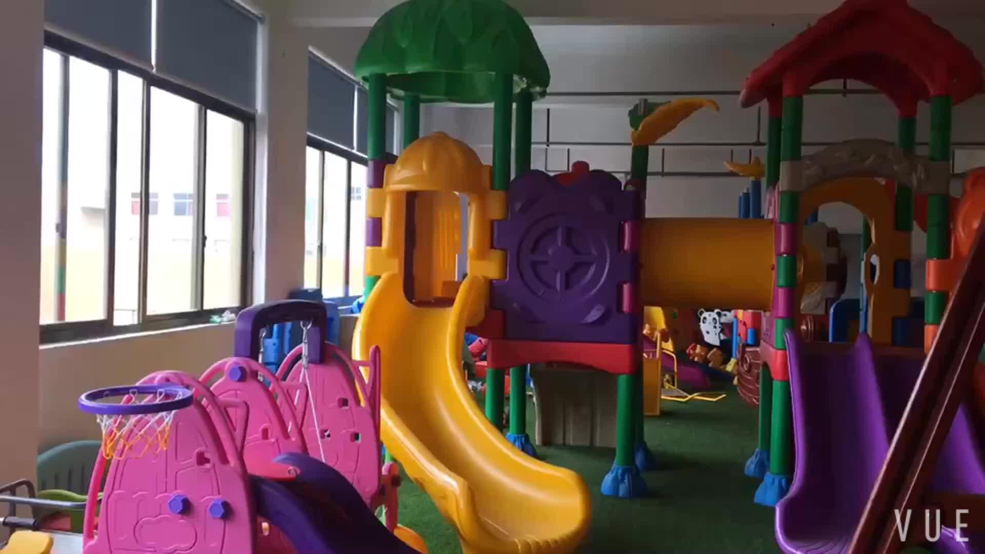 ベストセラー子供の遊具屋外プラスチックスライドプレイ · セット dust-