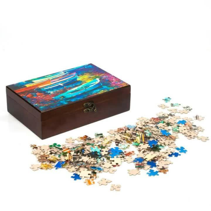 Sliding puzzle globo costume 1000 pieces jigsaw para crianças