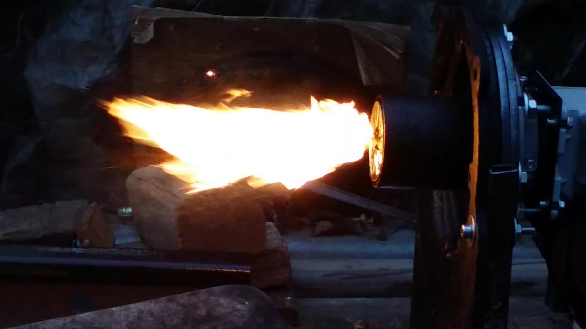 KV03 waste oil burner without air compressor