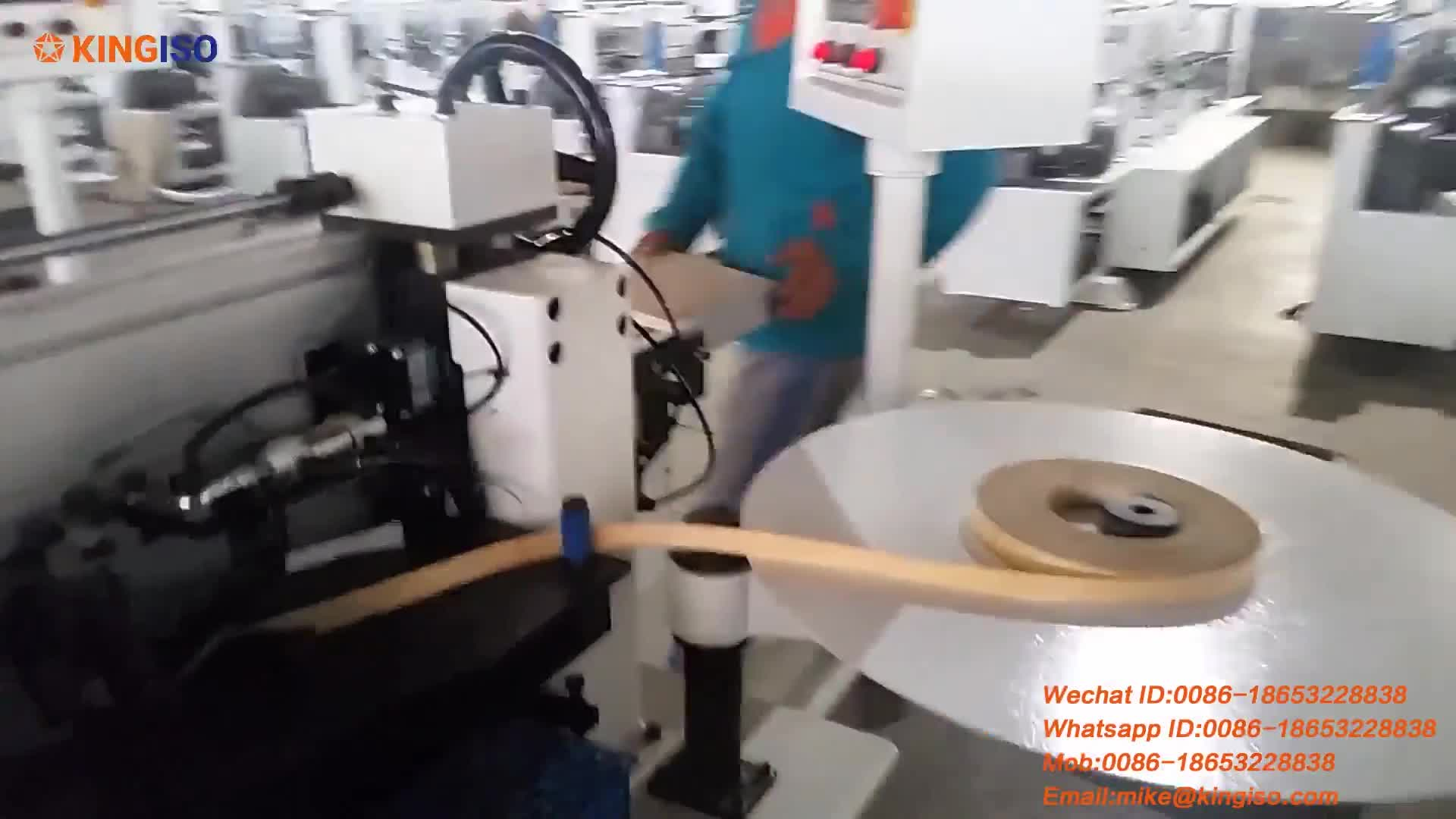 MFZ601 MDF Automatic edge bander from factory