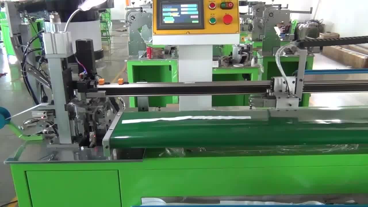 Auto regulador insertar bolsa de cremallera de la máquina