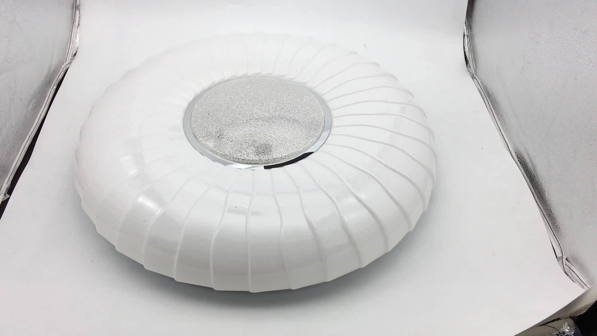 2019 nóng bán 12 w phòng khách thay đổi độ sáng ánh sáng trần vòng bangladesh trần ánh sáng