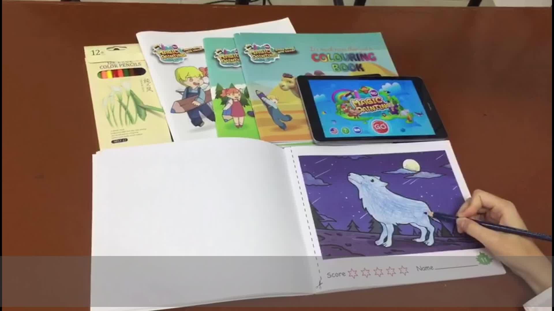 Produsen Profesional Ar Permainan Lukisan Seni Kit untuk Anak-anak