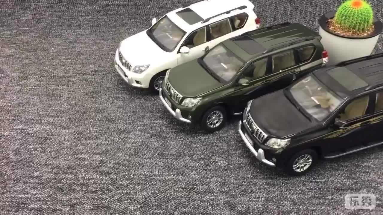 Toyota 1:18 prado Simulierte Legierung Auto Modell sammeln geschenke