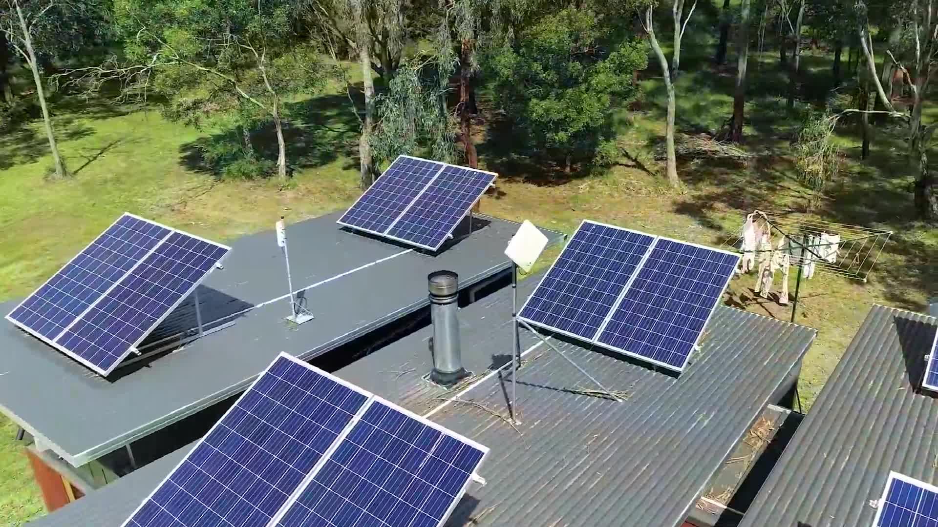 Komplette solar system grid gebunden 3KW 5KW 10KW hause solar energie system