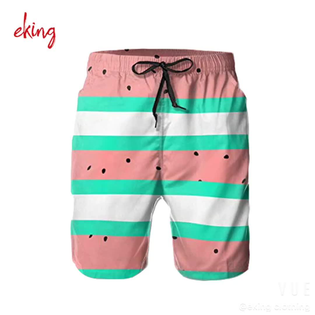 custom design your own board shorts printed waterproof pockets men swim trunks beach shorts