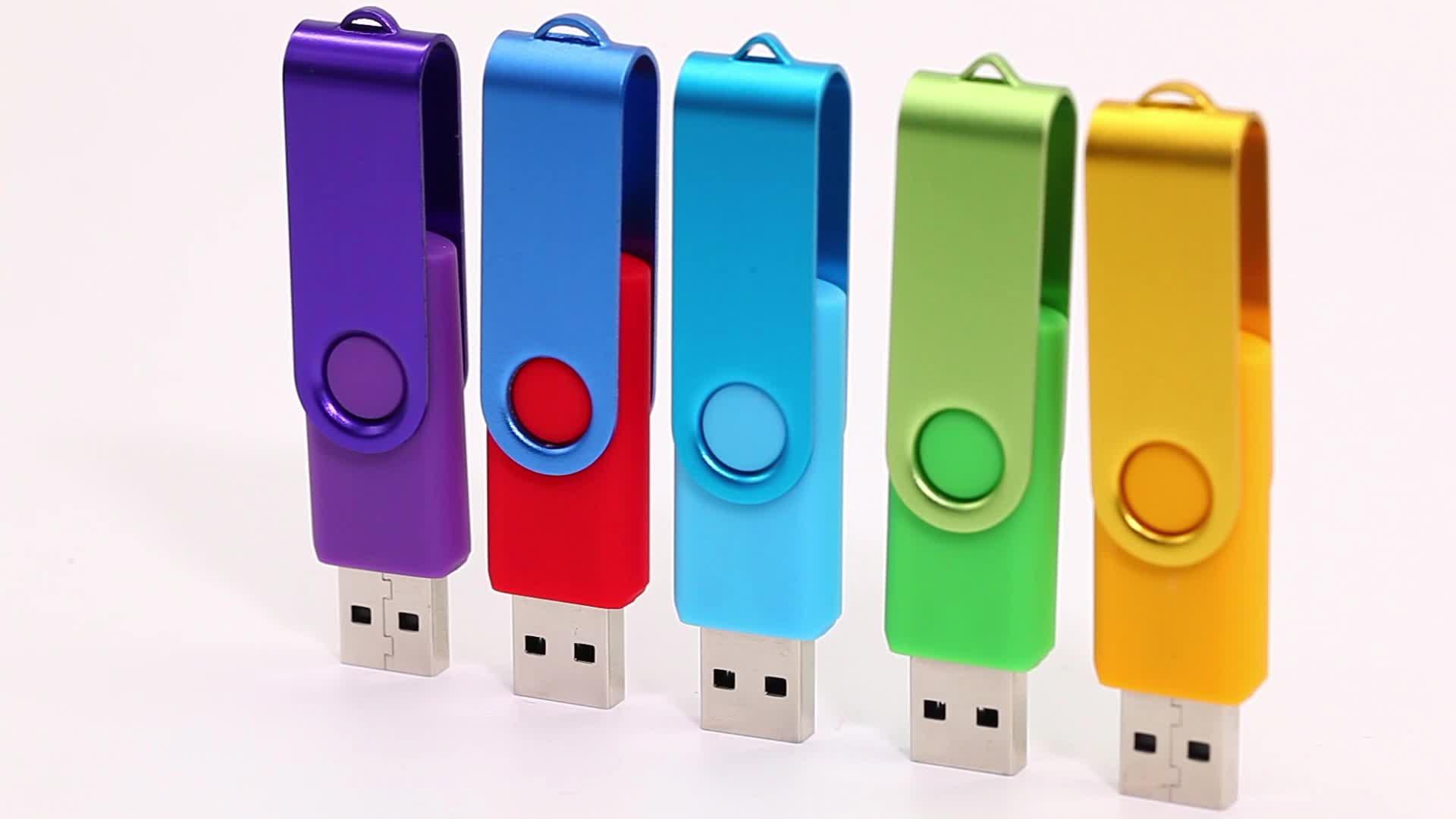 Swivel Pen Drive Usb 2.0 Custom Logo 16gb 32gb 64 Gb Usb Flash Drive,Usb Stick For Coopration Gift - Buy Swivel Usb Flash,Swivel