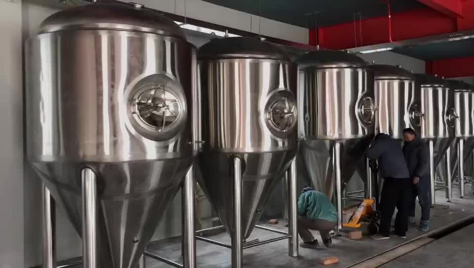 Factory Supply  Made 5000L Craft Commercial Large Beer Brewery equipment