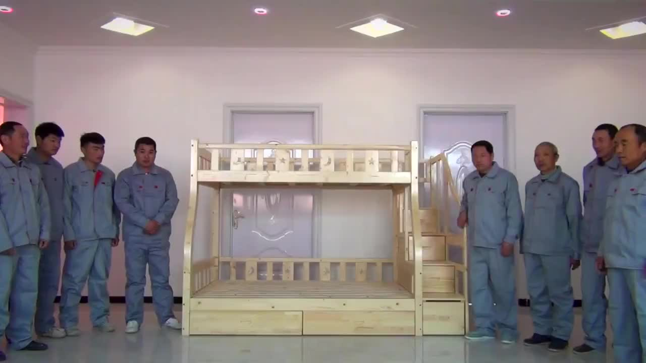 Letto A Castello in legno Confortevole Costante Per Due Persone Doppia Letti A Castello