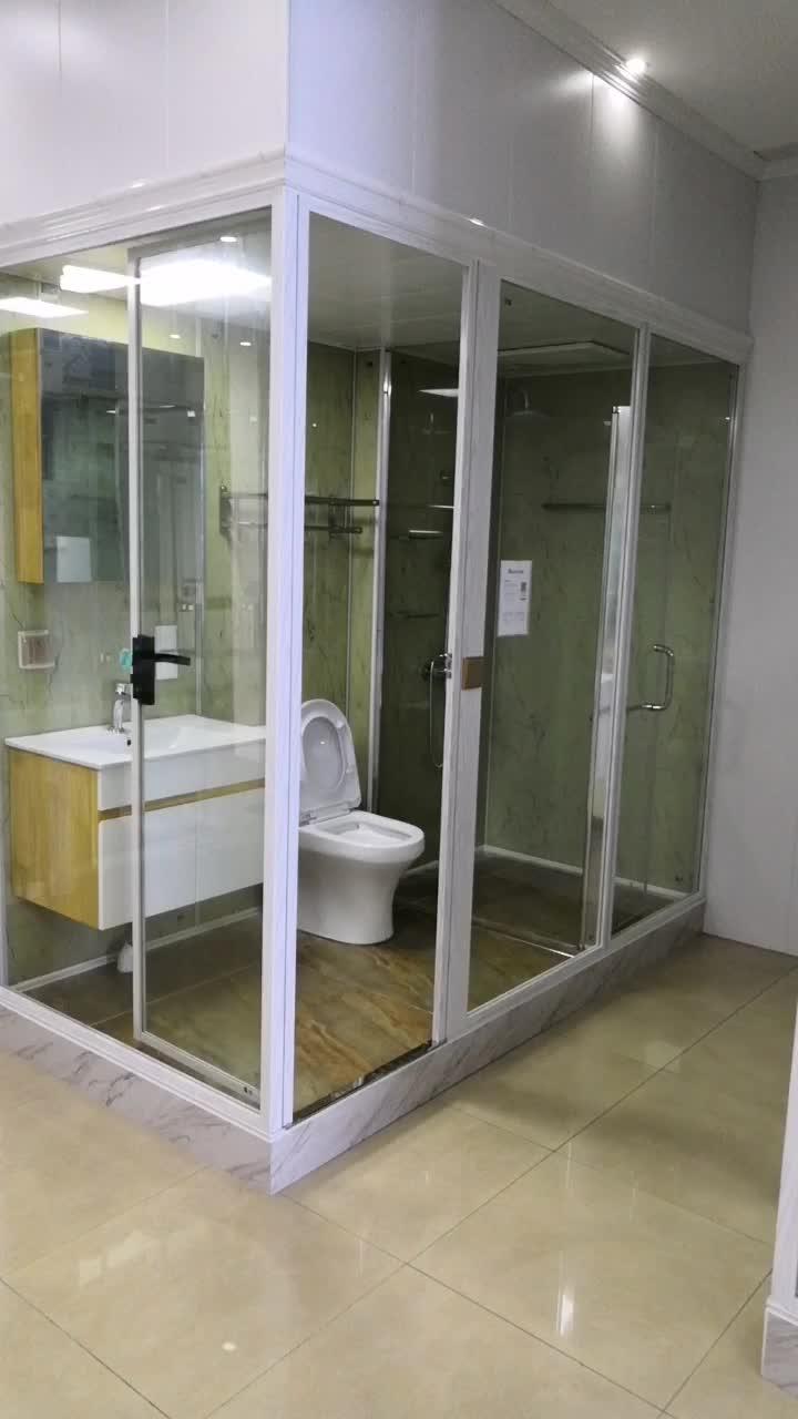 ร้อนขาย Prefab Modular ห้องน้ำ, ห้องน้ำ Pod