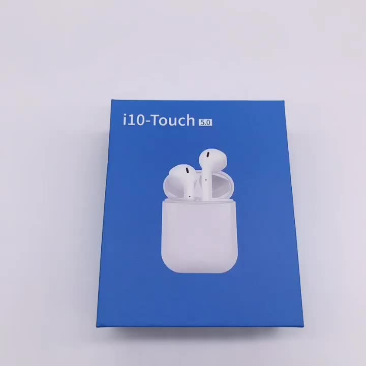 V5.0 Wireless Twins Stereo Music Earphones with Touch Control