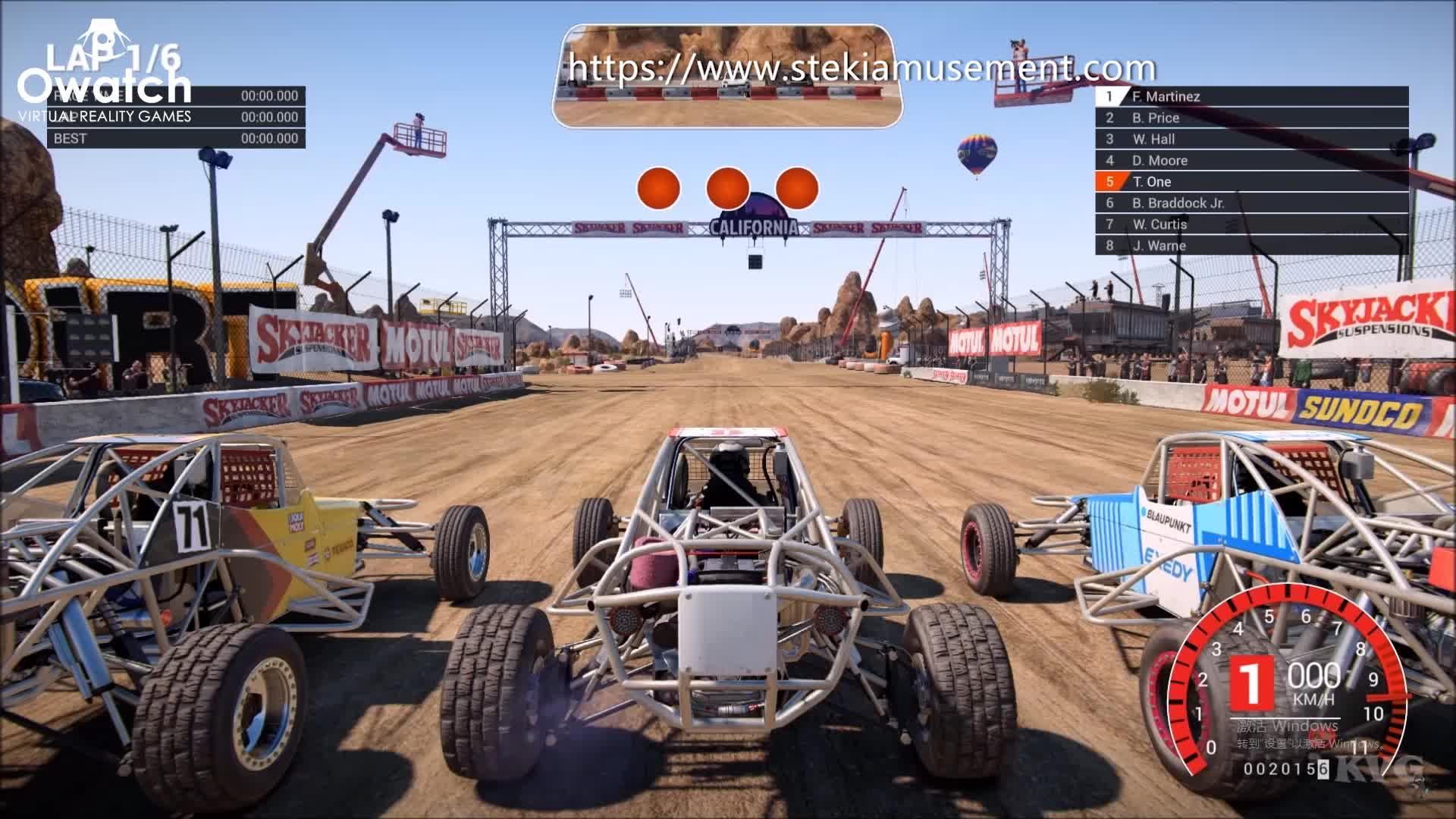 Three Screen Car Driving Simulator Driving School Equipment