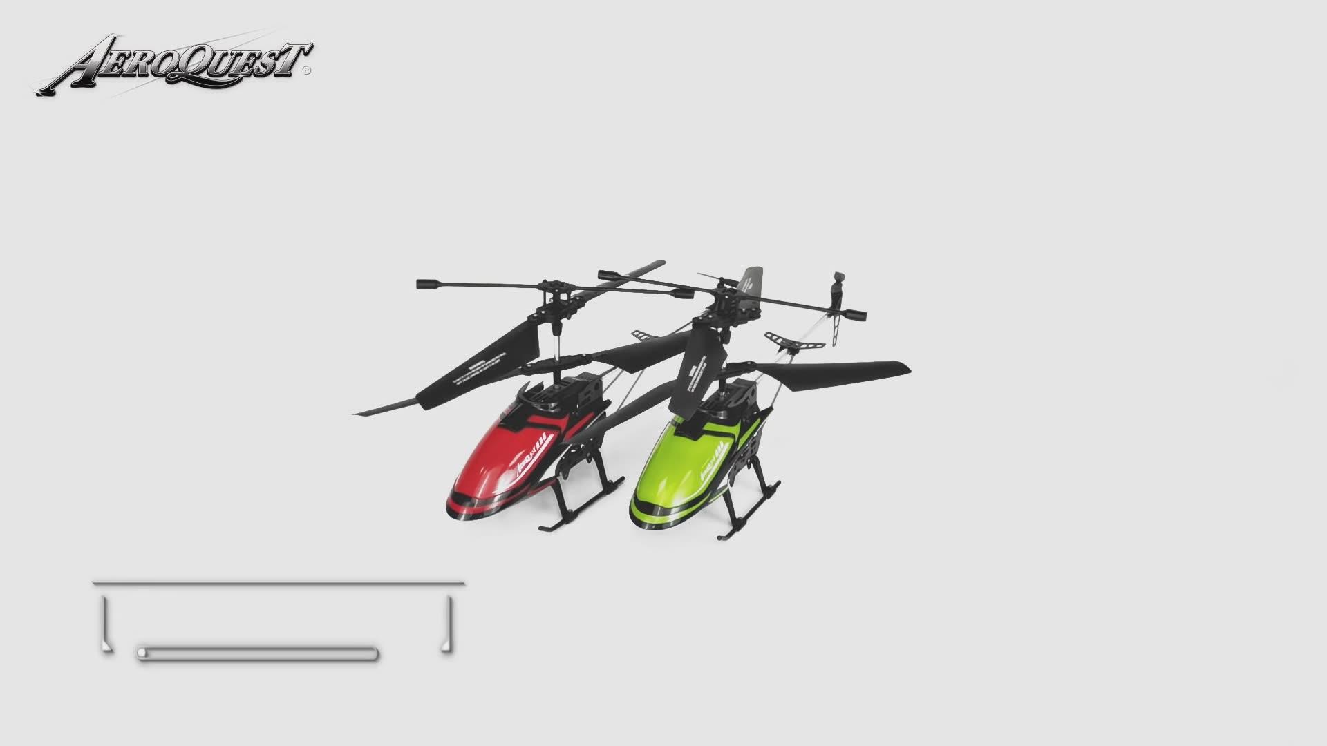 Helicóptero de Control remoto Heli de 3,5 canales a la venta con tiempo de vuelo largo RC
