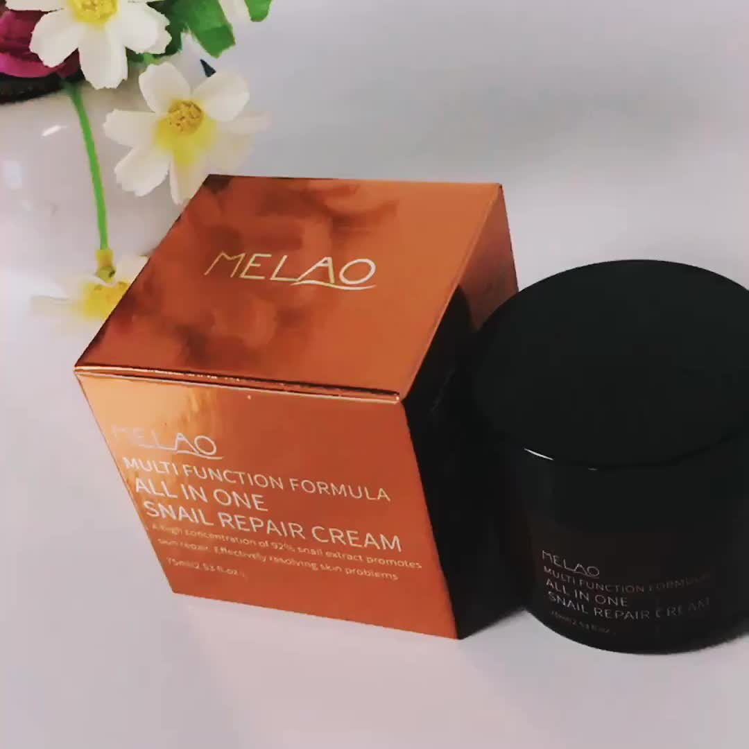 MELAO Snail Cream - All in One Cream - Facial Care Snail Cream